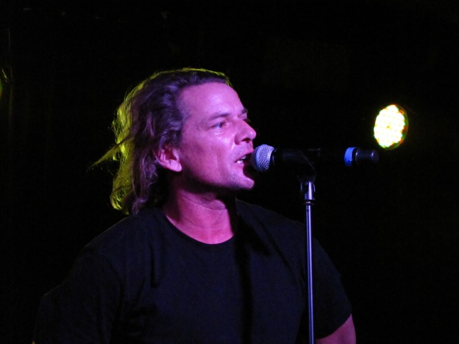 Whitfield Crane of Ugly Kid Joe - Photo taken with compact camera