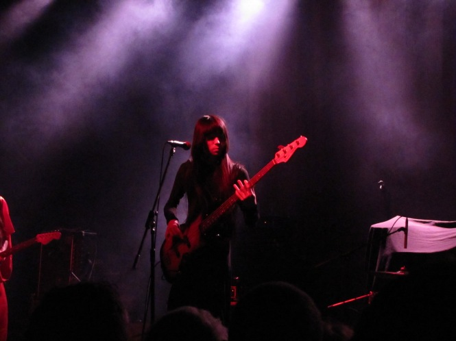 Taigen Kawabe of Bo Ningen - Photo taken with a compact camera