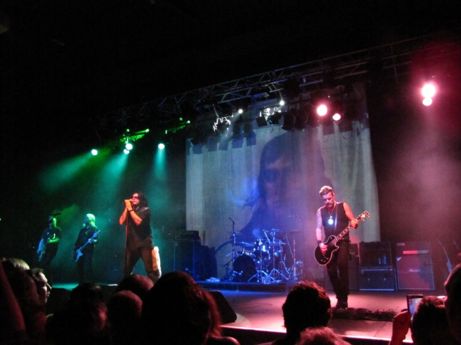 The Cult - Photo taken with a compact camera