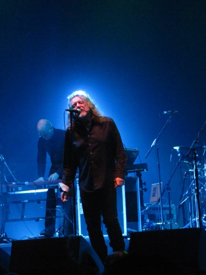 Robert Plant - Photo taken with a compact camera