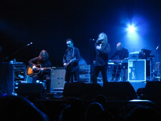 Robert Plant and The Sensational Spaceshifters - Photo taken with a compact camera