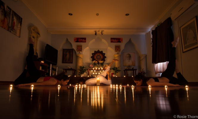 Yoga by candlelight-3