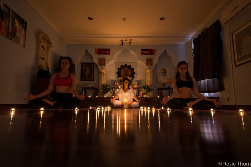 Yoga by candlelight-5
